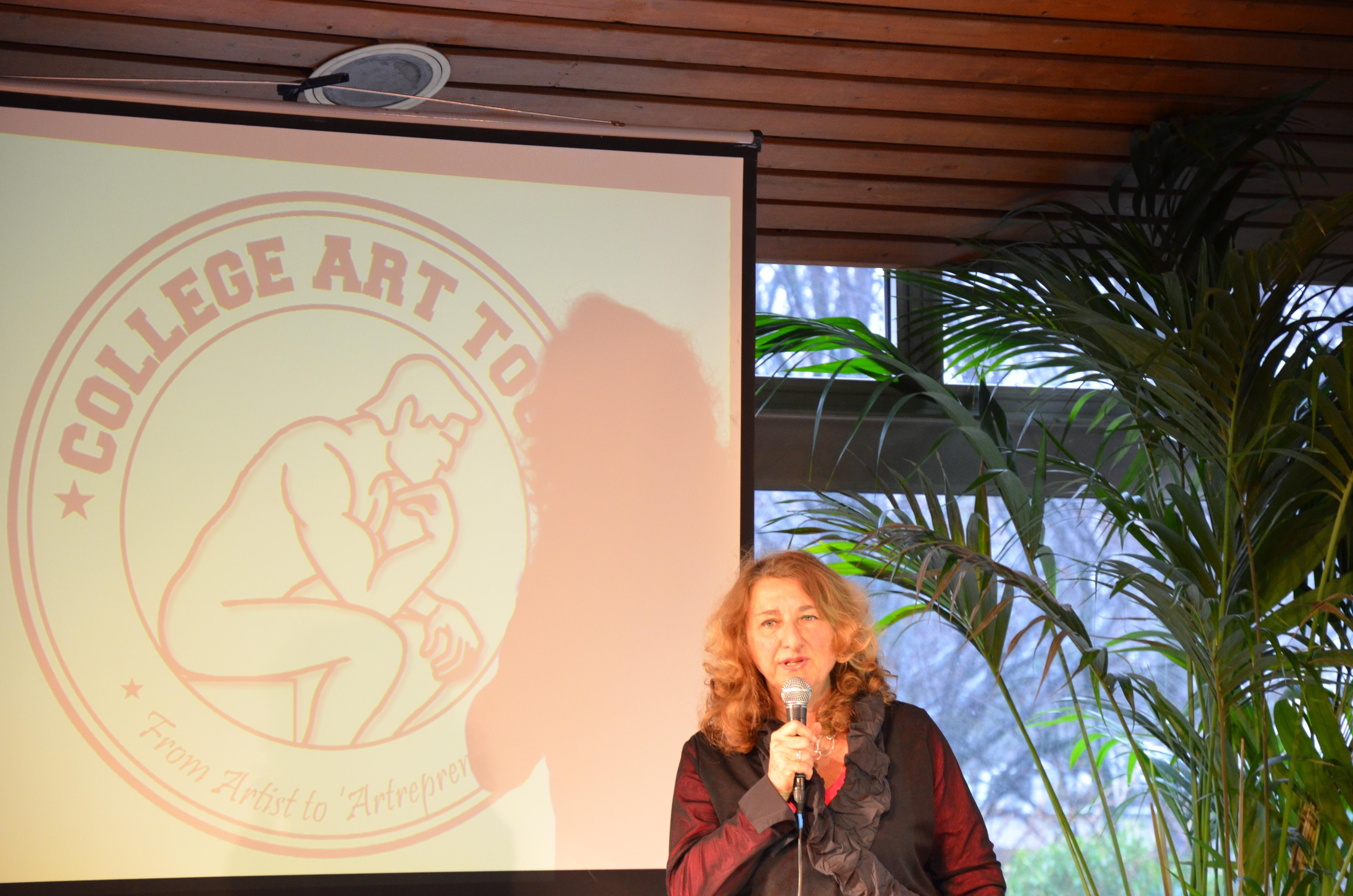 Openingstoespraak van Monica van Rijn.