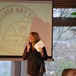 Monica van Rijn vertelt over College Art Tour.